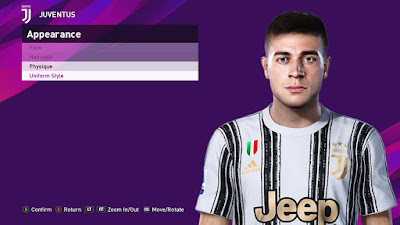 PES 2020 Faces Luca Zanimacchia by SR