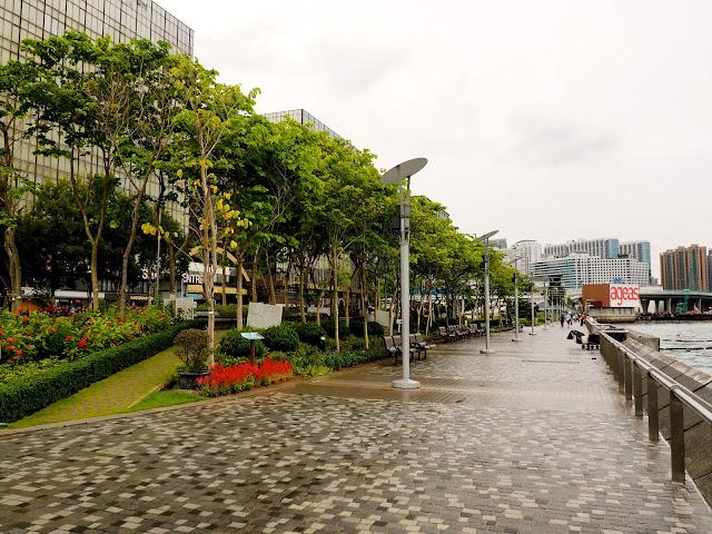 Tsim Sha Tsui East Promenade, Kowloon, Hong Kong