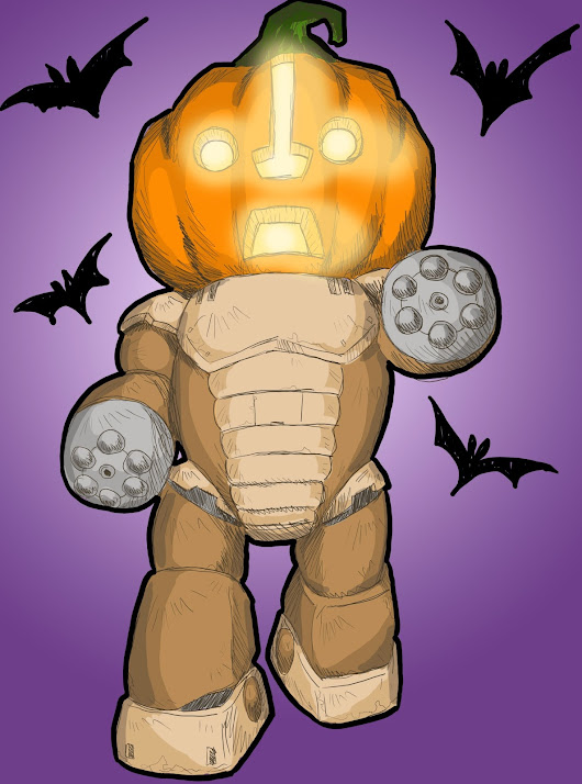 Pumpkin-head Beargguy