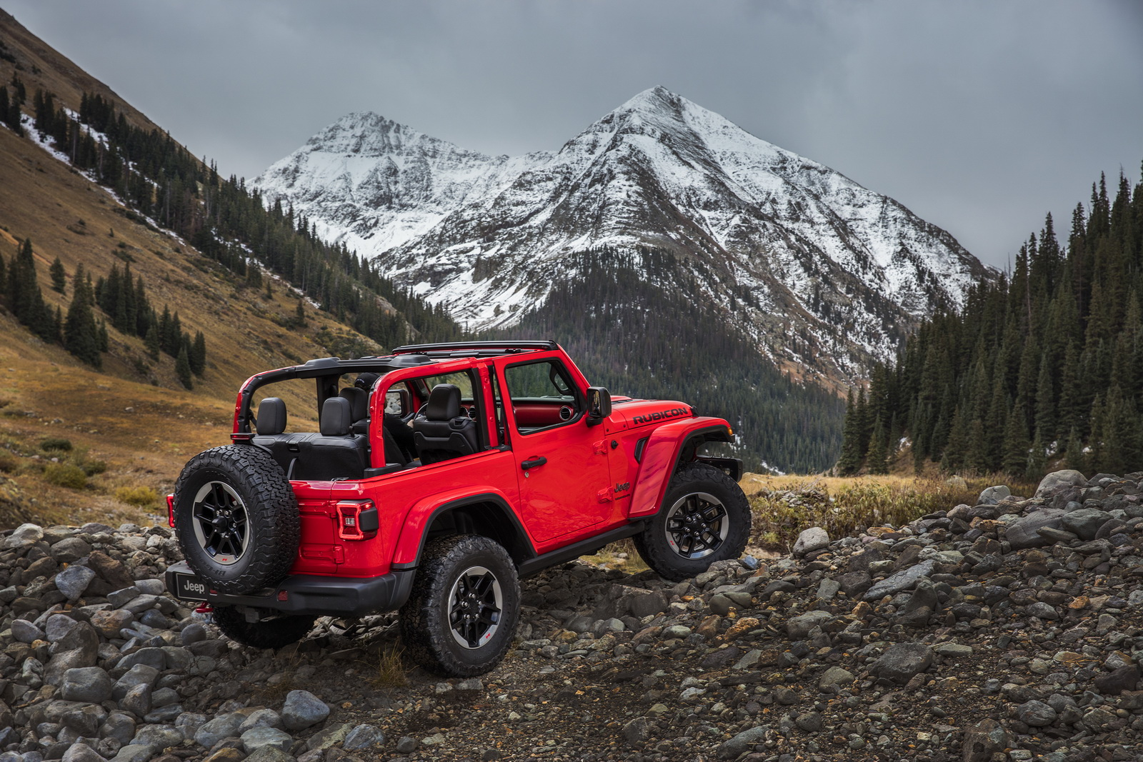 New Jeep Wragler S Half Doors Won T Be Available Until 2019