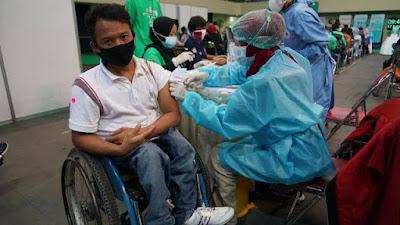 Pemerintah Percepat Vaksinasi Kelompok Disabilitas