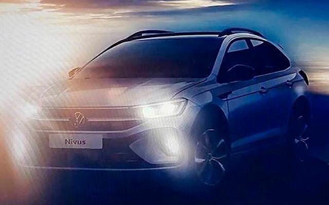 Volkswagen Nivus: SUV do Polo tem dianteira revelada