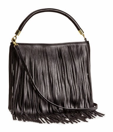 H&M Fringe Shoulder Handbag