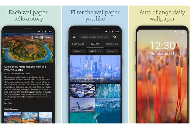 Bing Wallpapers - Αυτόματη εναλλαγή φόντου κάθε μέρα με επιλεγμένες εικόνες της Microsoft