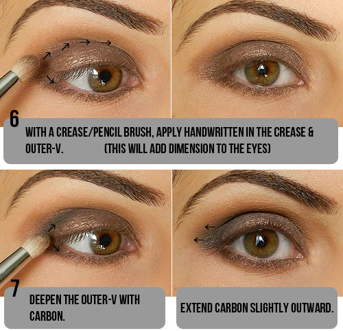 All About Style Step By Step Smokey Taupe Eyeshadow Tutorial