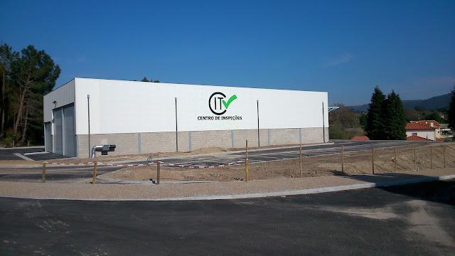 Fotografia do Centro de Inspeções de Freixieiro de Soutelo