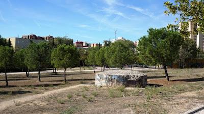 Búnker en el Parque de la Cuña Verde