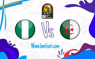 مشاهدة مباراة الجزائر ضد نجيريا مباشر