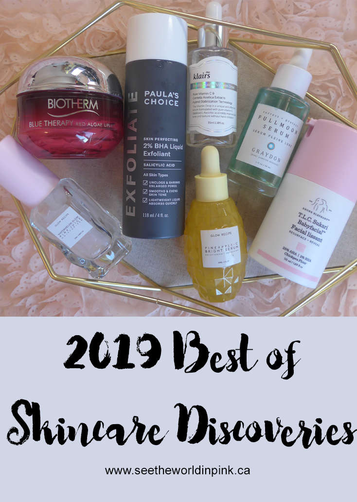 Best of 2019 - Skincare Discoveries!