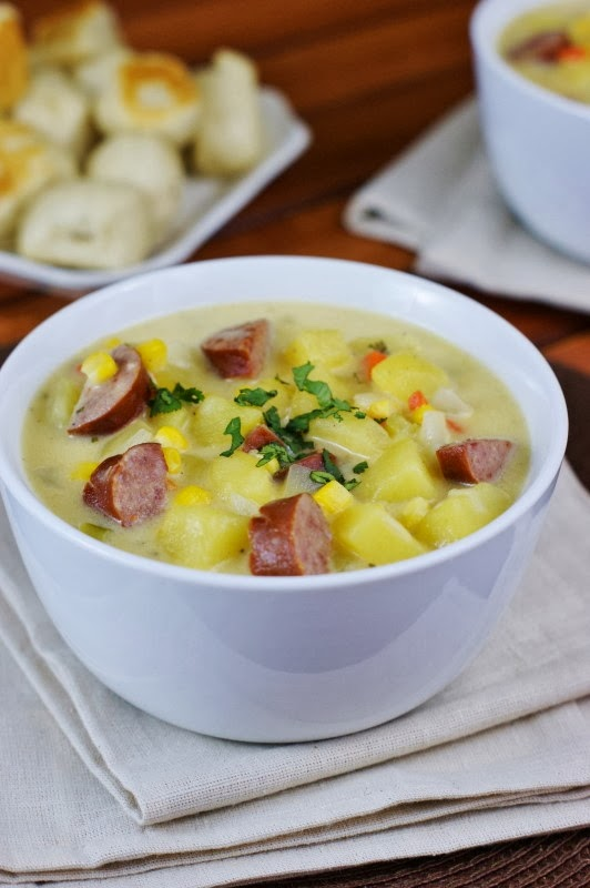 Kielbasa Potato Soup