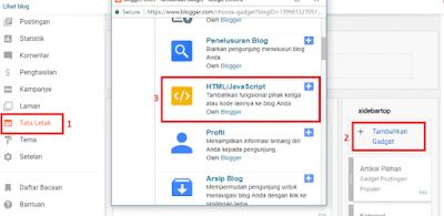 memasang lagu otomatis putar blogspot