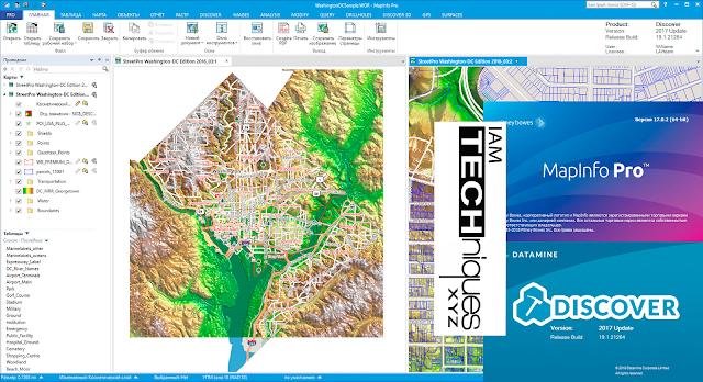 MapInfo Pro v17.0.2 And Discover 2017 v19