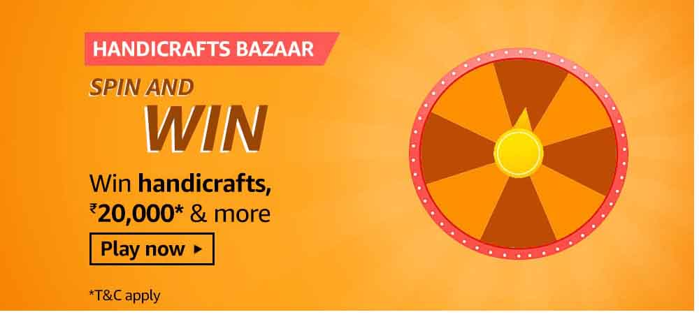 During All India Handicrafts Week, What Products Will You Find On Amazon Karigar's Handicraft Bazaar?