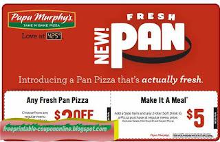 Free Printable Papa Murphys Coupons