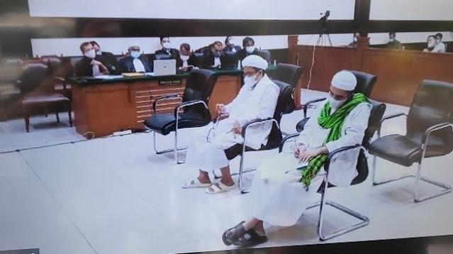 Tok! Banding Ditolak, Habib Rizieq Tetap Dihukum 4 Tahun Penjara di Kasus RS UMMI