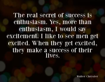 Success Enthusiasm Quotes