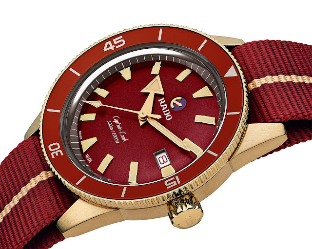 Rado Captain Cook Bronze Burgundy Automatic ref. R32504407