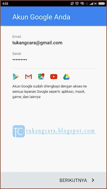 Cara Membuat Akun Google Di Android - Cara Mengaktifkan Play Store