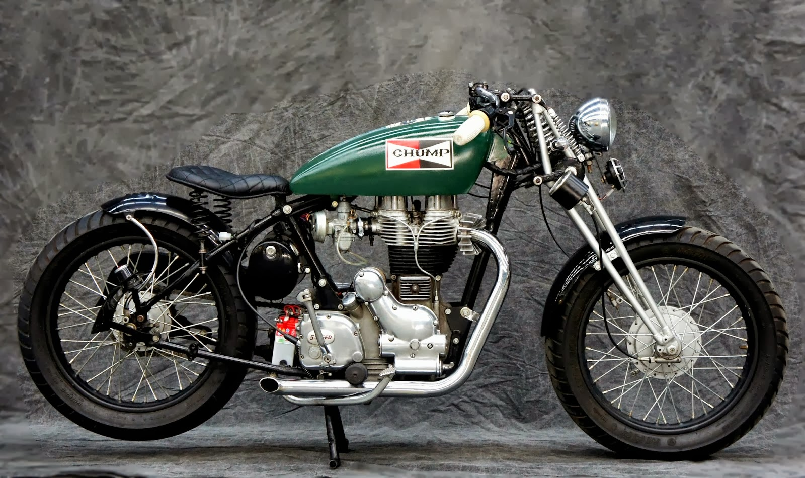 Custom Royal Enfield Hardtail