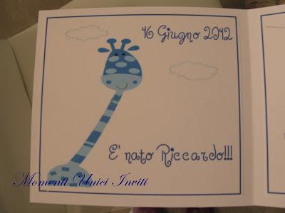 nascita+bimbo2 Biglietto nascita ed invito al battesimo bimboBattesimo Biglietti Nascita