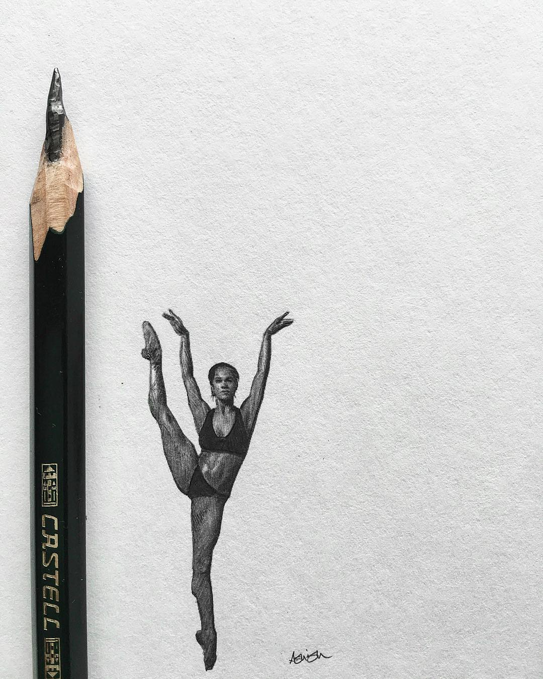 05-Ballerina-close-up-Hash-Patel-ilovehash-Celebrity-Detailed-Micro-Miniature-Drawings-www-designstack-co