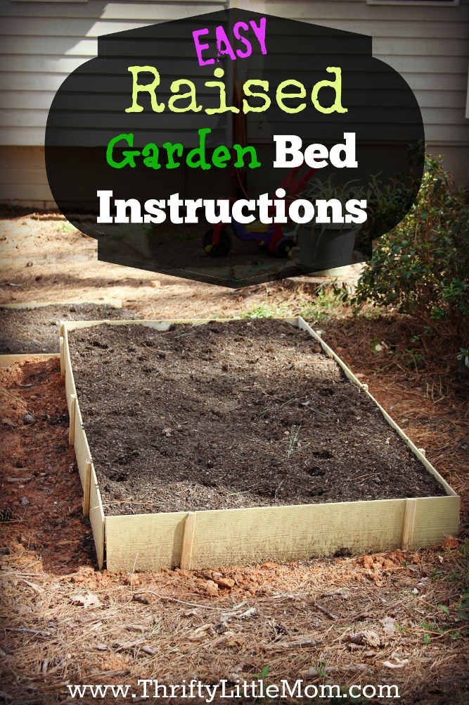easy raised garden bed plans