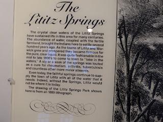 Lititz springs write up