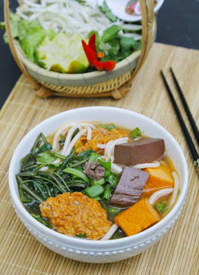 Vietnamese Noodle Recipes - canh bún
