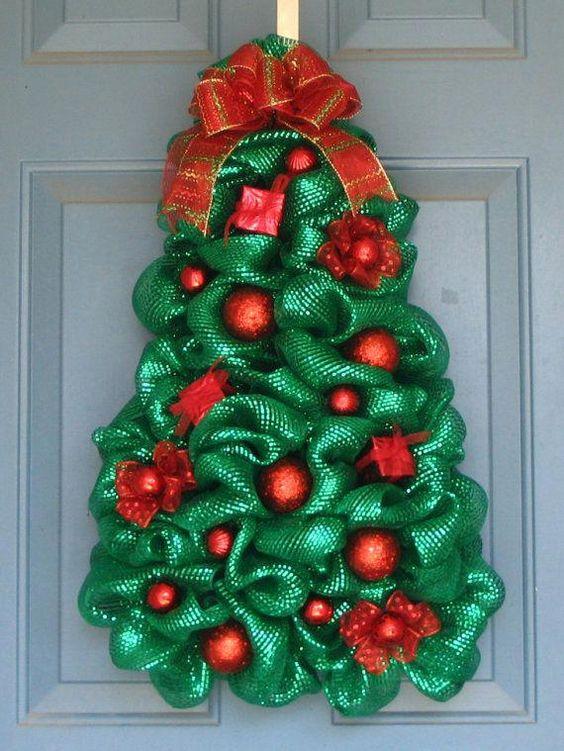 30 Dekorasi Natal di Pintu Rumah