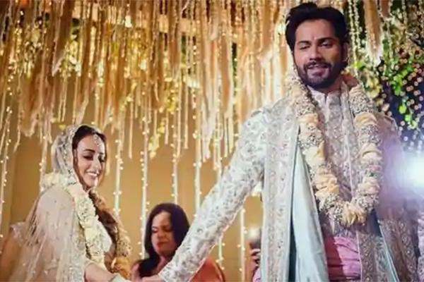 Bollywood star Varun-Natasha is finally got married