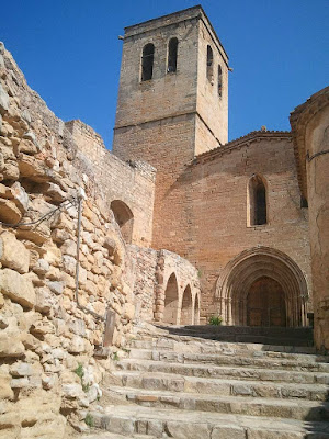 Gothic church of Santa Maria in Guimerà