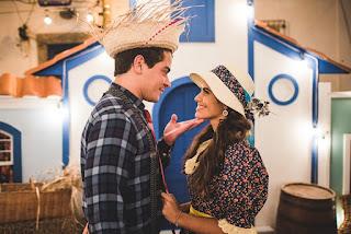 Thiago e Eline