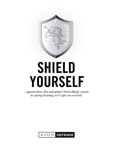 AVON SHIELD YOURSELF CAMPAIGN 12 & 13 2020