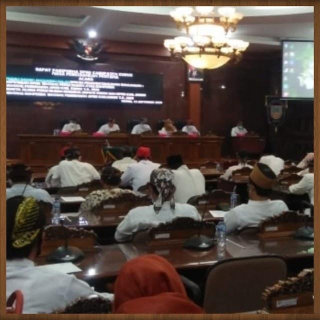 Rapat Paripurna DPRD  Bersama Plt. Bupati Kudus Peringati Hari Jadi Kota Kudus ke - 471