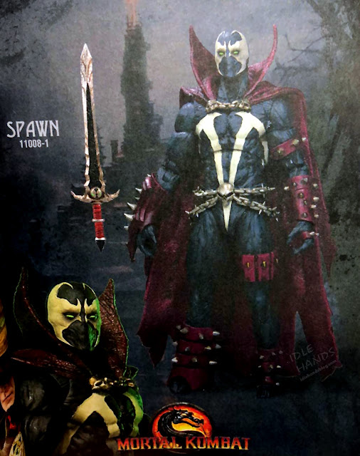 Toy Fair 2020 McFarlane Mortal Kombat Spawn Action Figure