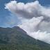 Hujan Abu Gunung Merapi Sampai ke Candi Borobudur