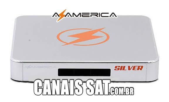 Azamerica Silver IPTV Nova Atualização V1.27 - 29/11/2019