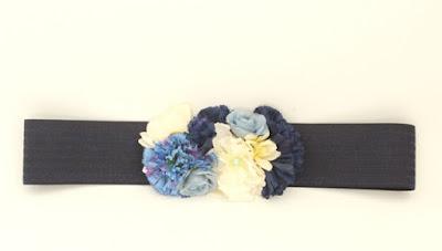 PV 2017 - Coleccion Azul Marino 13 cinturon elastico flores