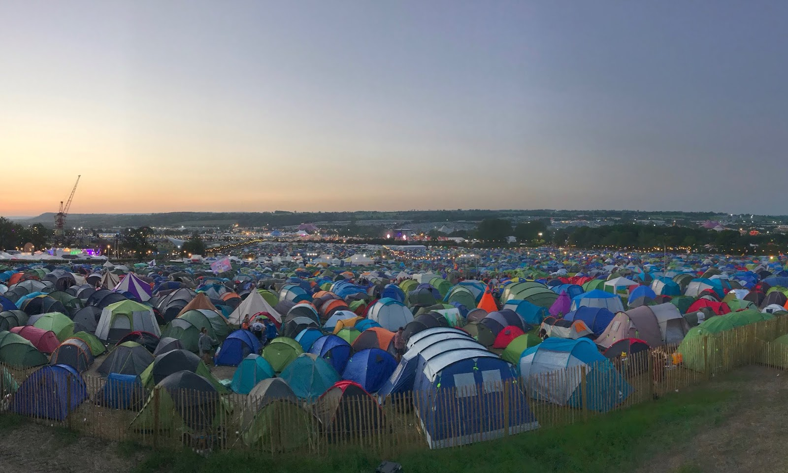 How to survive your first big festival
