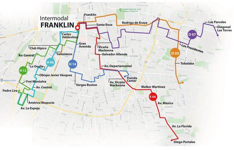 Cómo usar la Estación Intermodal de Franklin que debuta el miércoles