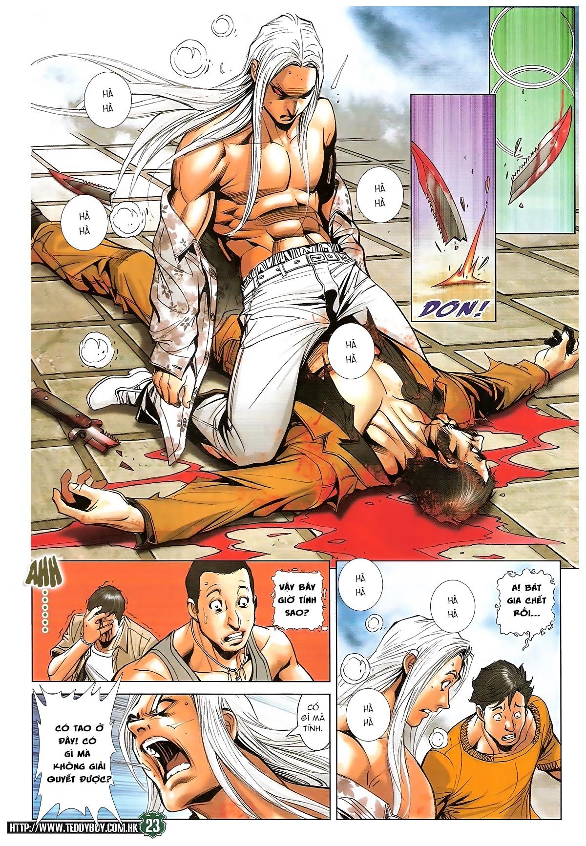 Người Trong Giang Hồ chapter 1721: vĩnh biệt vu bát trang 22