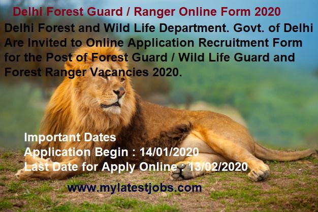 delhi-forest-guard
