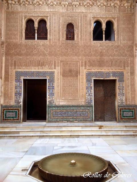 Alhambra de Granada. Palacios Nazaries.