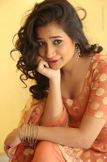 Telugu Actress Santoshi Sharma Latest Stills in Salwar Kameez at HBD Movie Teaser Launch  0070.JPG