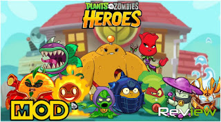 Download Plants vs Zombies Heroes Mod Apk Terbaru