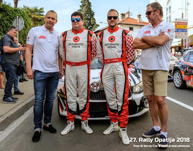 27. Rally Opatija 2018 @ Međunarodni rally za Mitropa kup