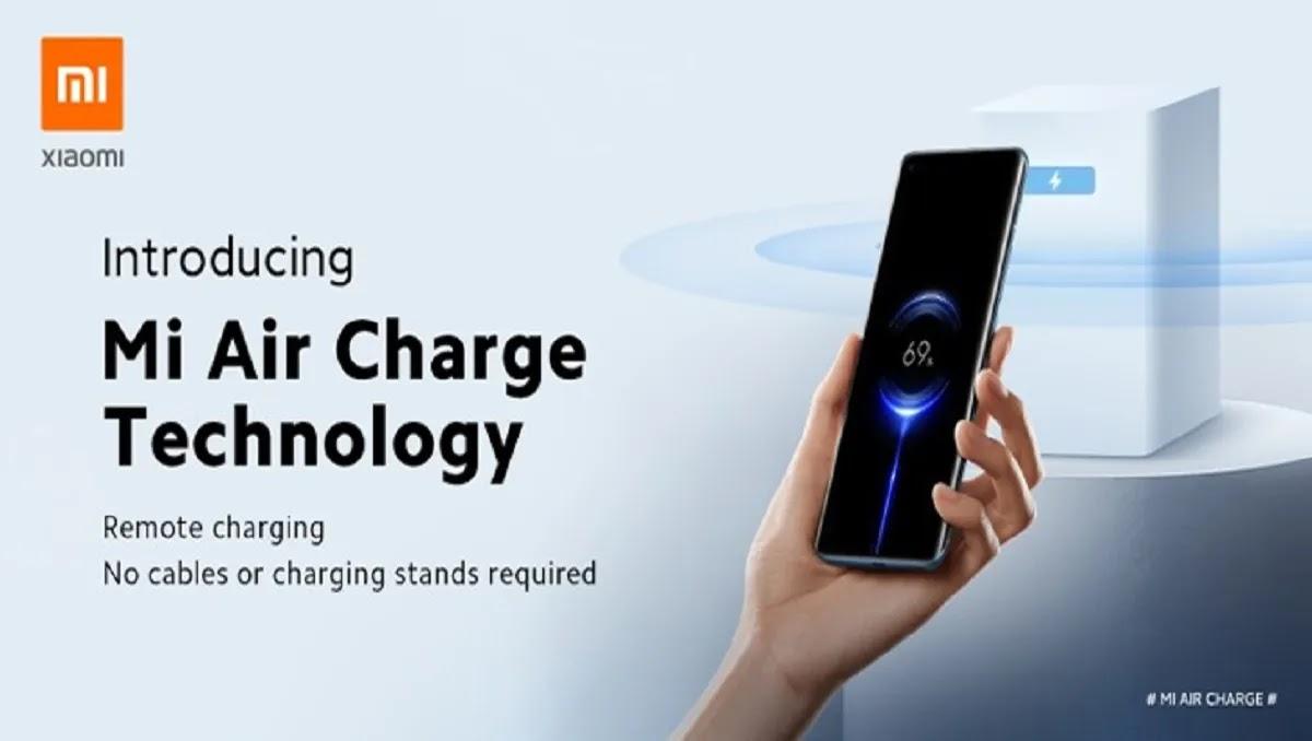 تُظهر Xiaomi نظام Mi Air Charge الجديد ، الذي ينقل الطاقة اللاسلكية عبر الهواء إلى أجهزة مثل الهواتف الذكية ، على بعد عدة أمتار