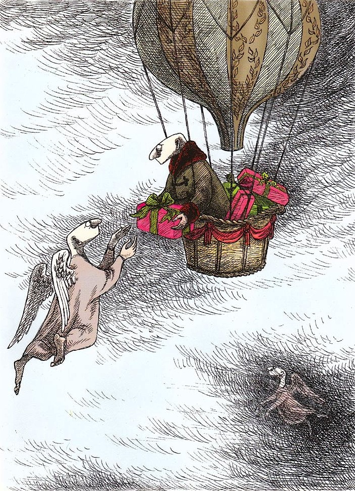 Image result for EDWARD GOREY balloon