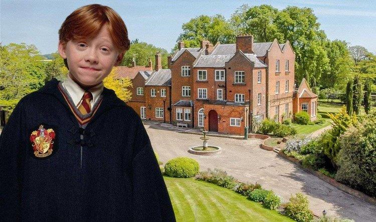 Rupert Grint, de mago en Harry Potter a dueño de un imperio inmobiliario millonario