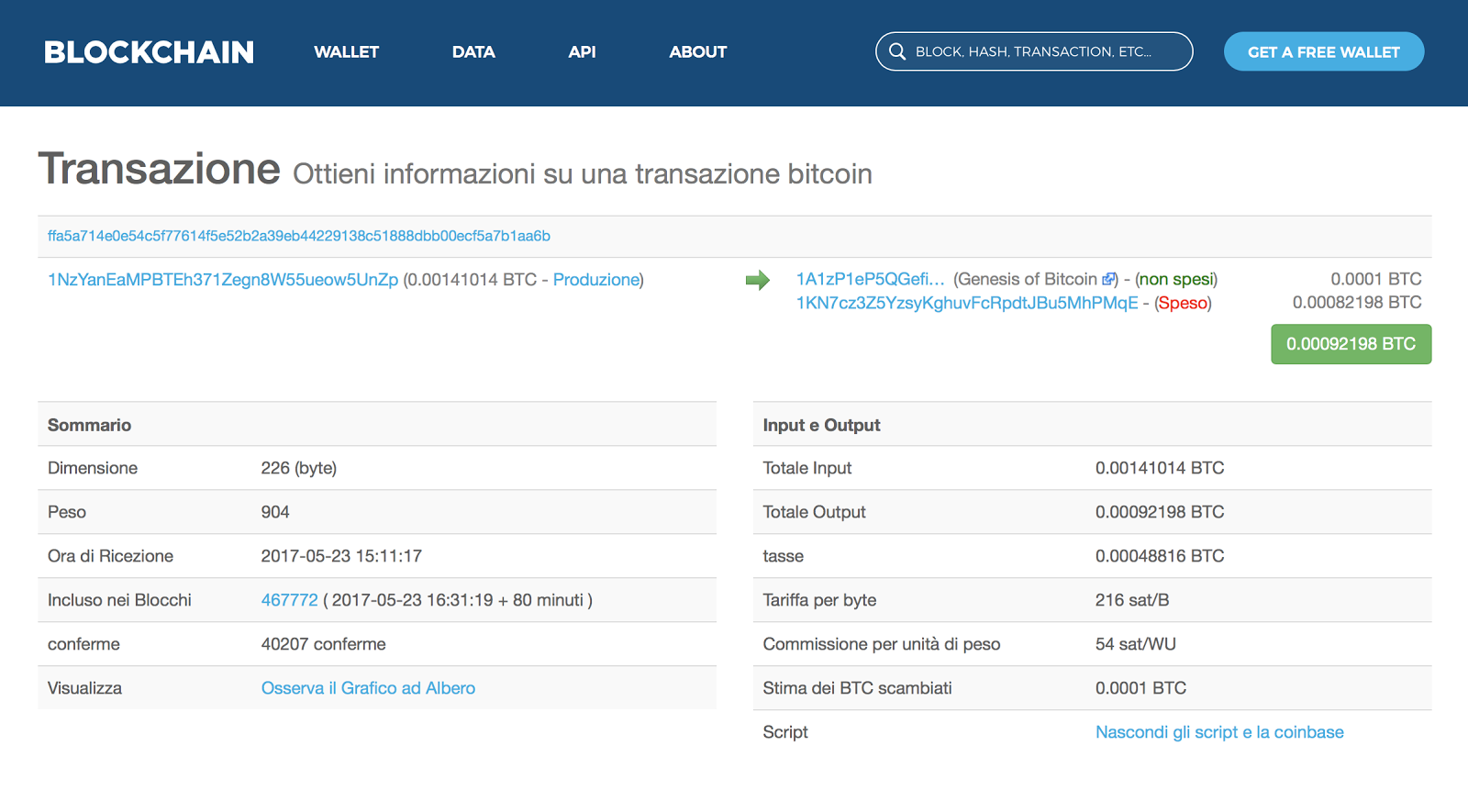 Come annullare una transazione Bitcoin